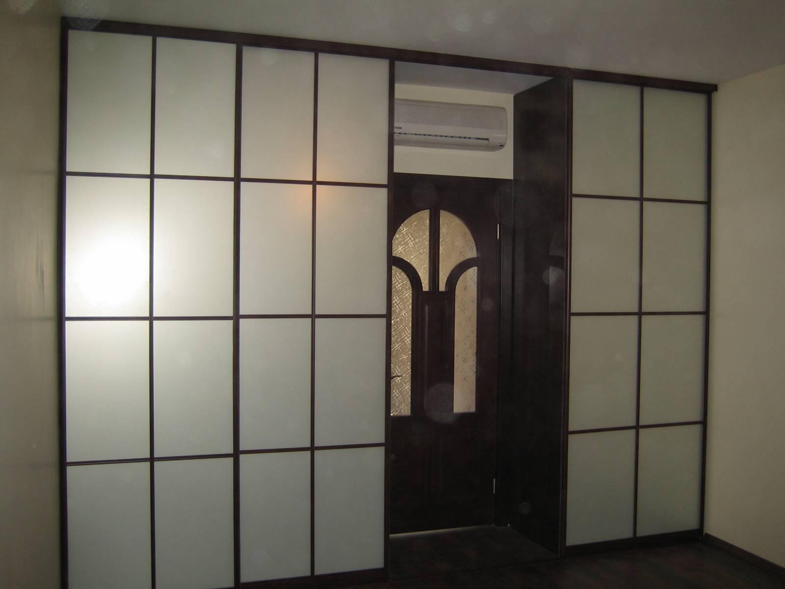 Шкафы межкомнатные перегородки фото